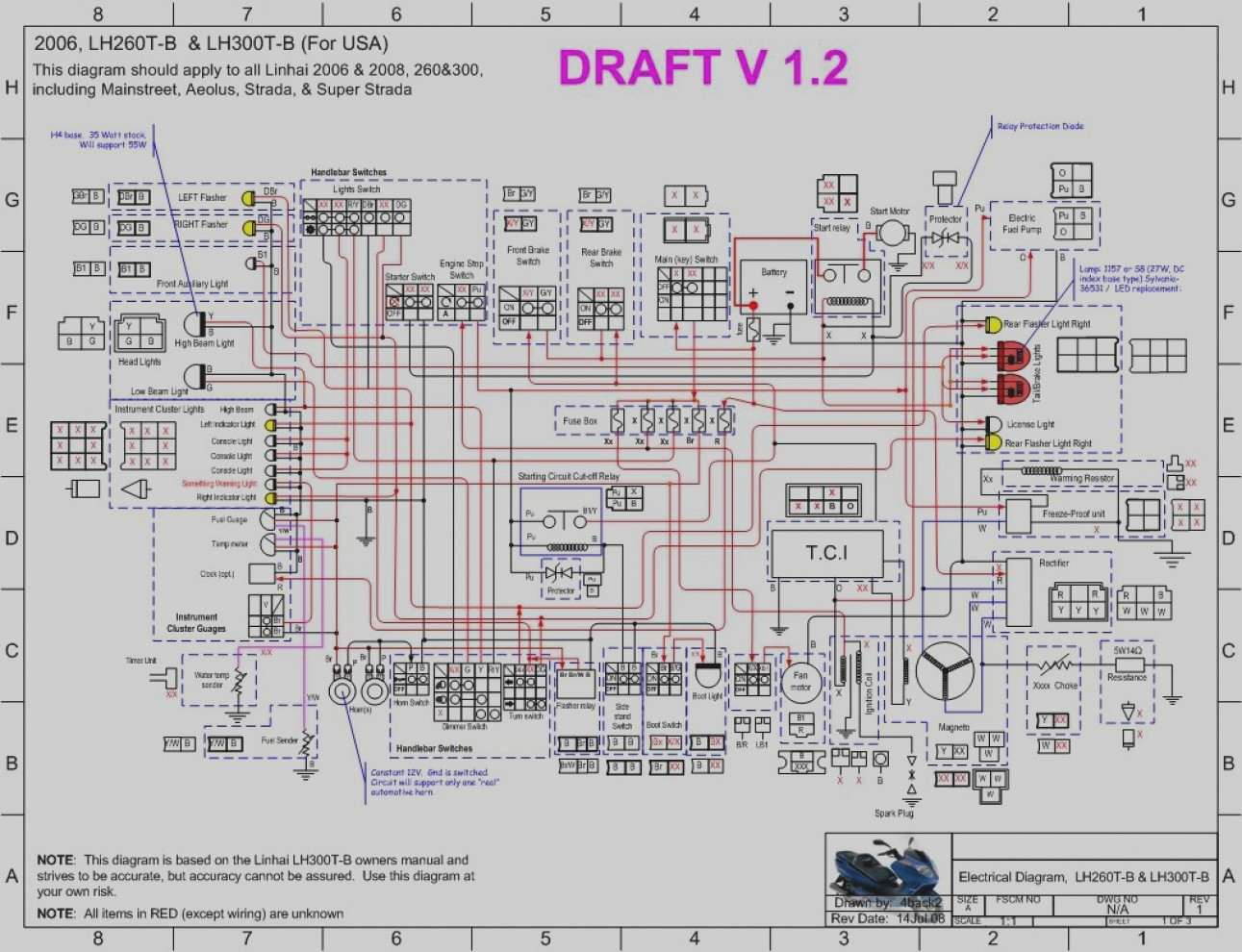 2 stroke scooter wiring diagram schematic electrical work wiring