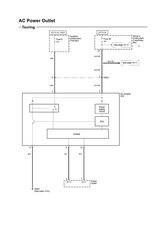 2003 honda odyssey wiring diagram Fig