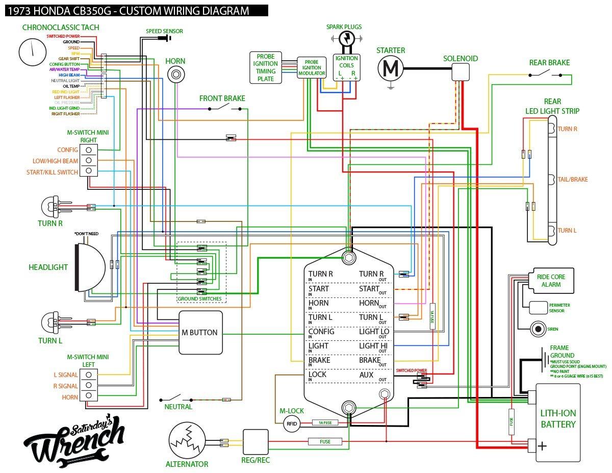 d custom wiring diagram m unit install 73honda350 wiring diagram 1200—927