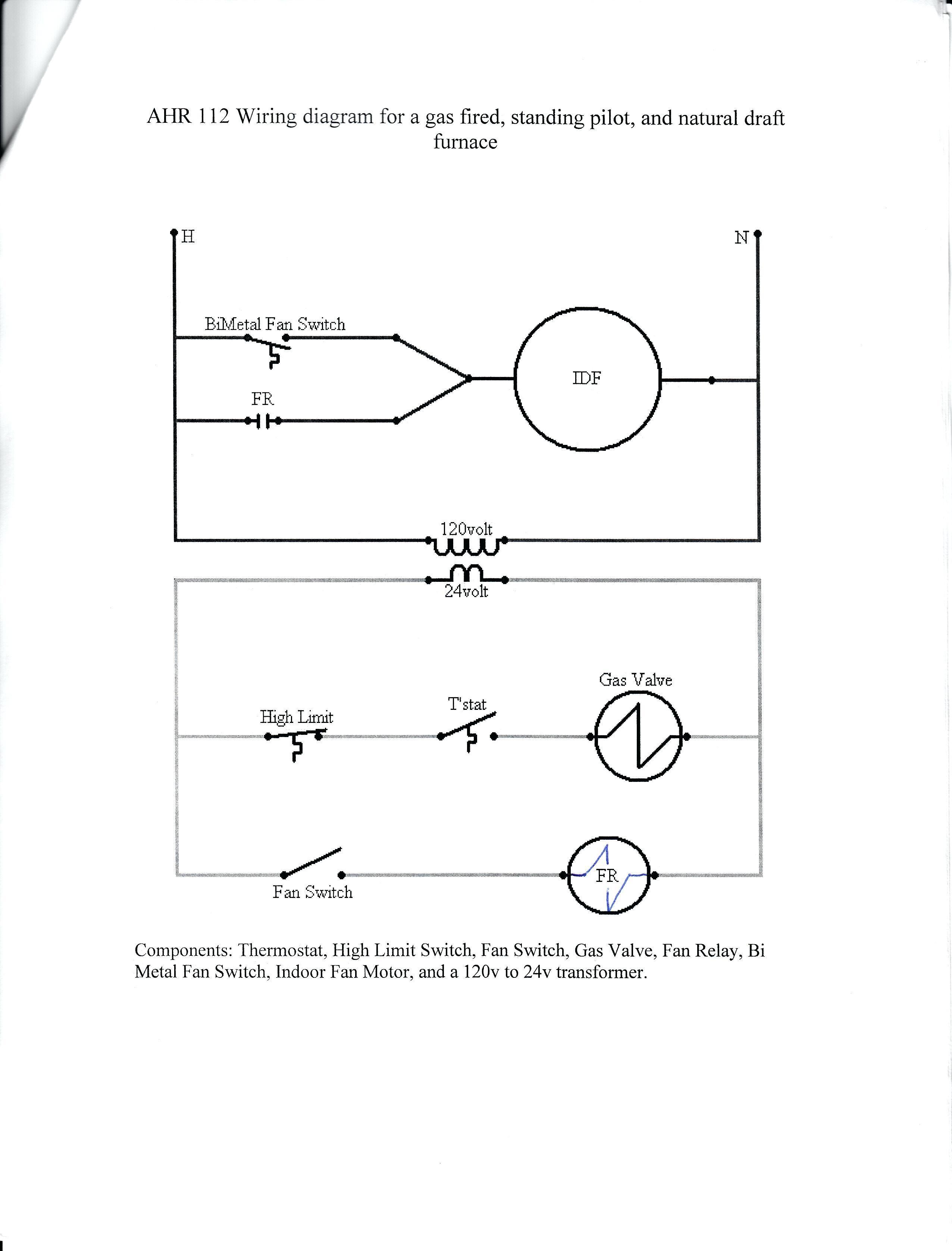 Honeywell Fan Limit Switch Wiring Diagram | Wiring Diagram Image