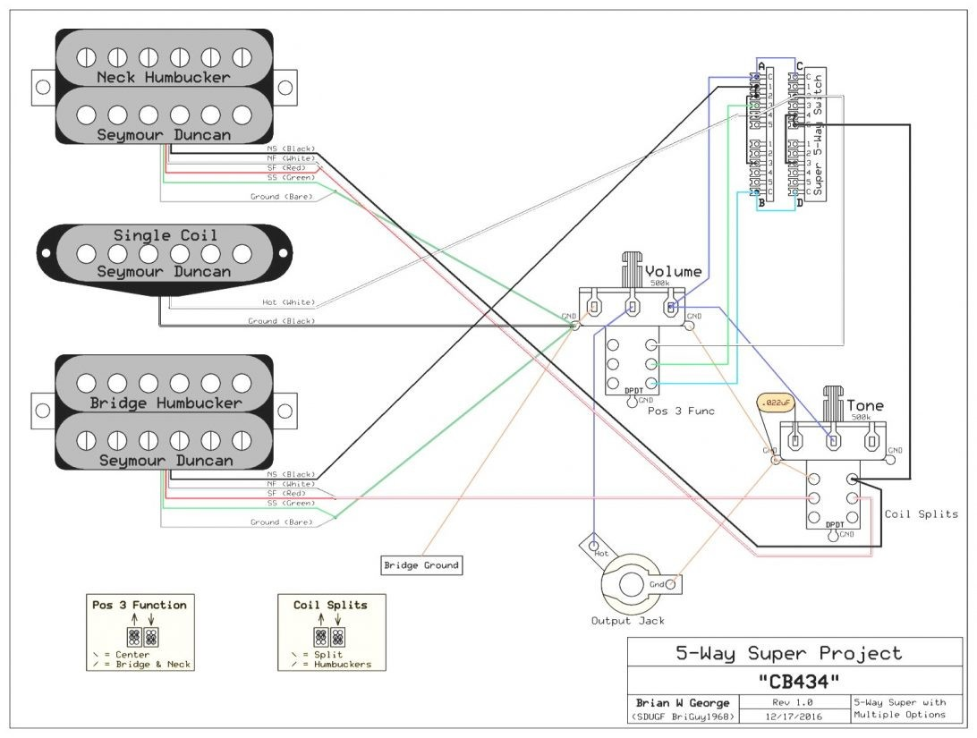 hsh wiring diagram 5 way switch inspirational