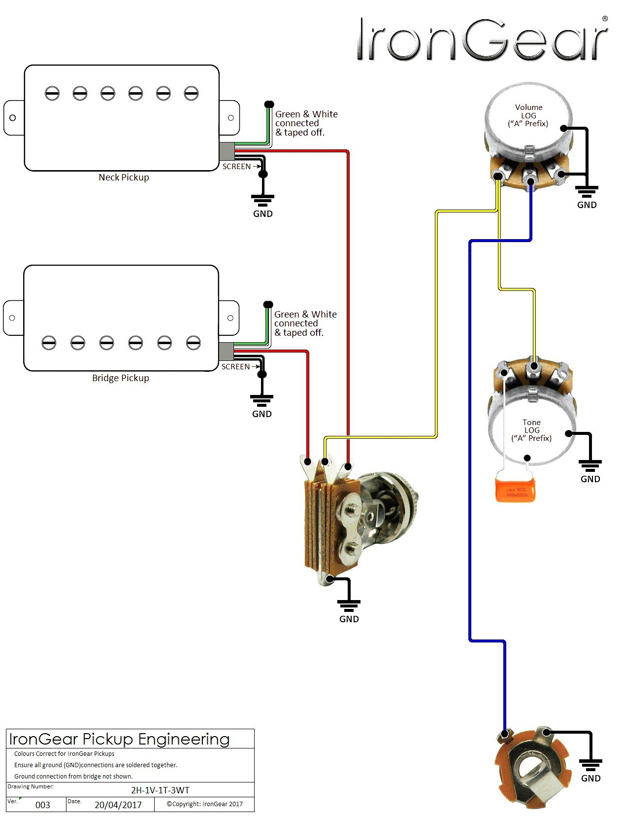 WRG-5324] Fernandes Guitar Wiring Diagram on