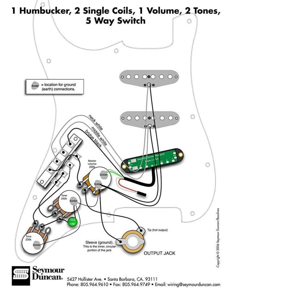 Stratschem Random 2 Hss Wiring Diagram Strat