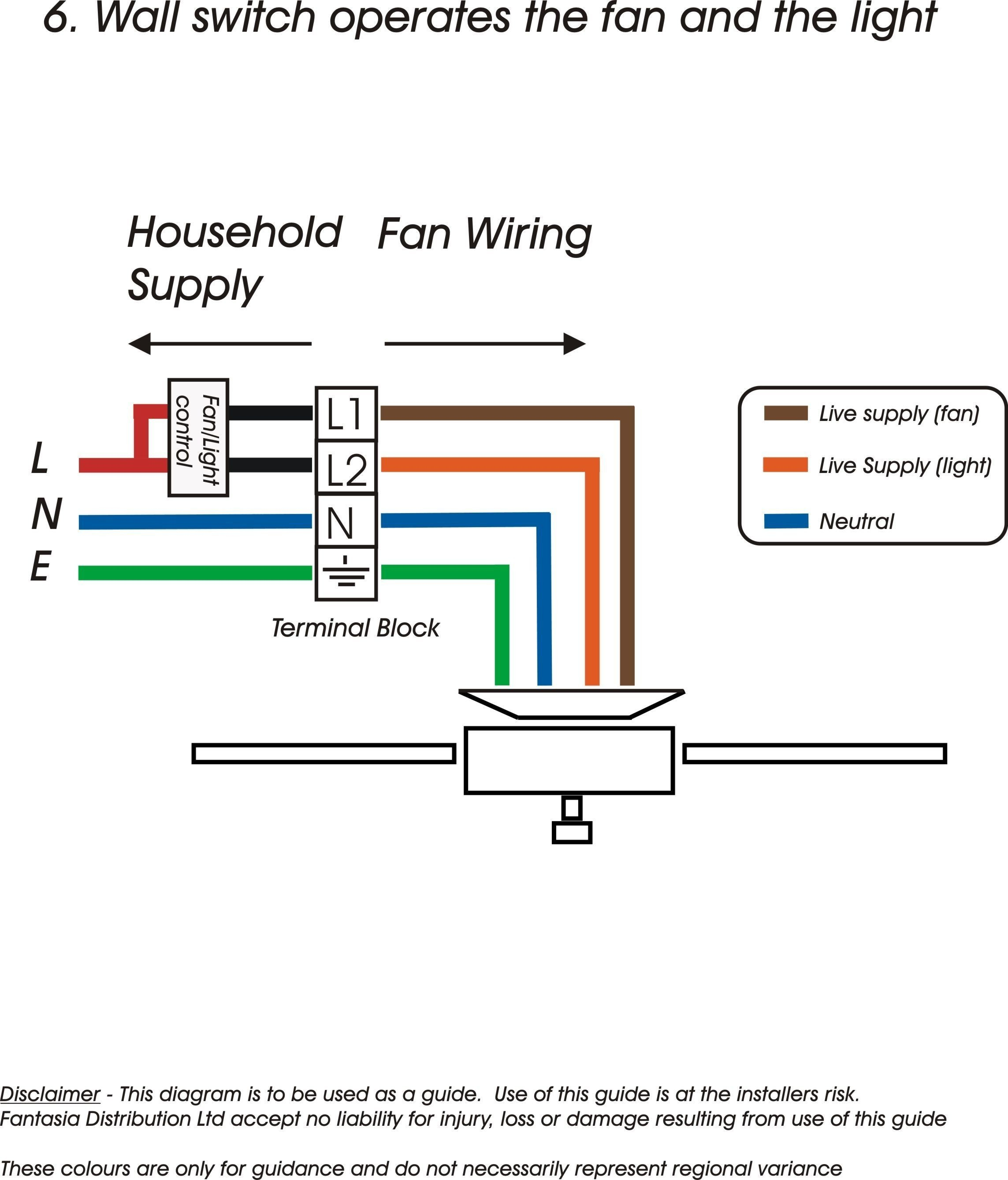Wiring Diagram For Ceiling Fan Switch New Hunter Fan Switch Wiring Diagram