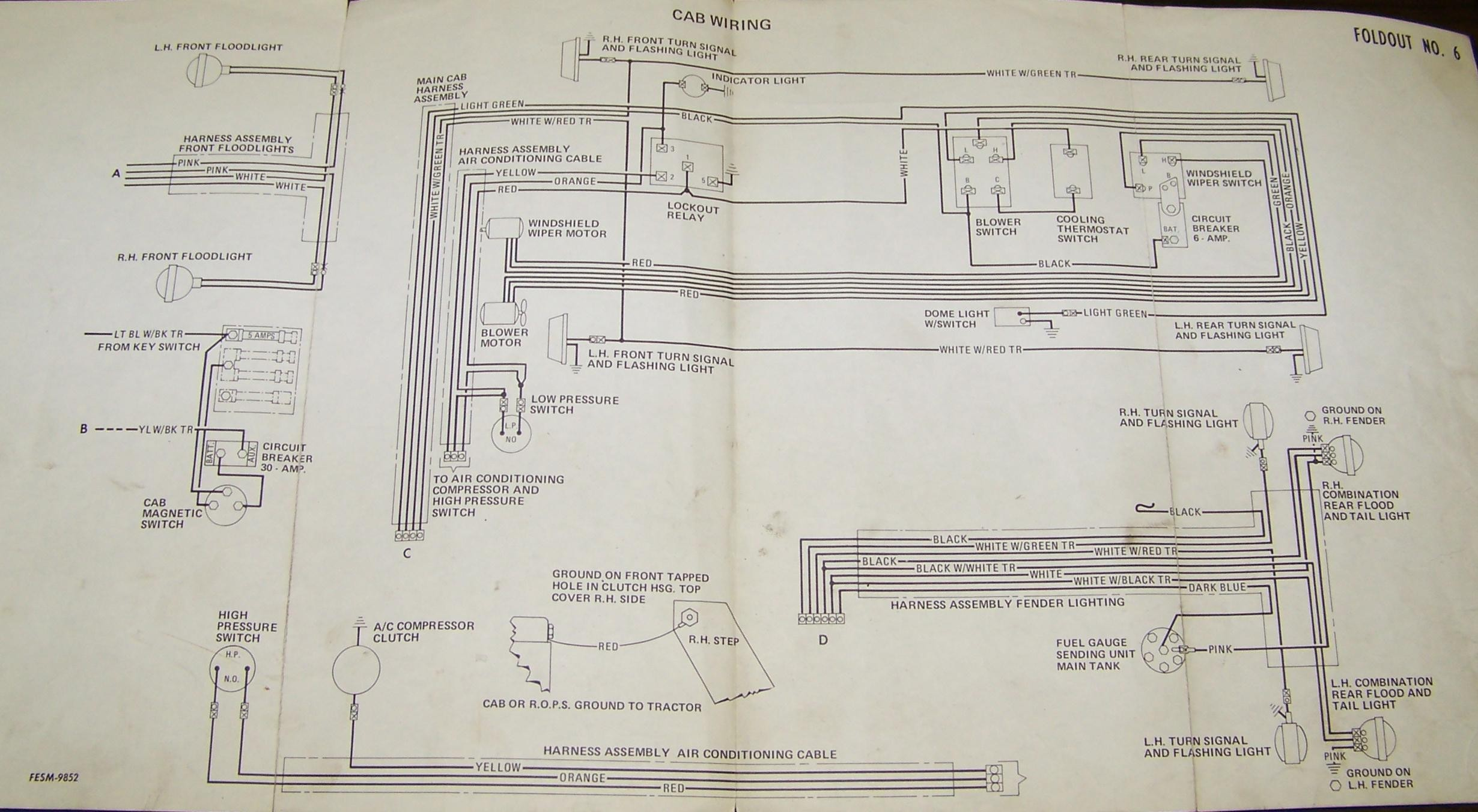 Light Wiring Diagram Ih 504 - Wiring Diagrams Hidden on