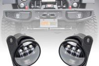 Jeep Jk Fog Light Wiring New Amazon Liteway Pair 4 Inch 30w Cree Led Fog Lights Projector