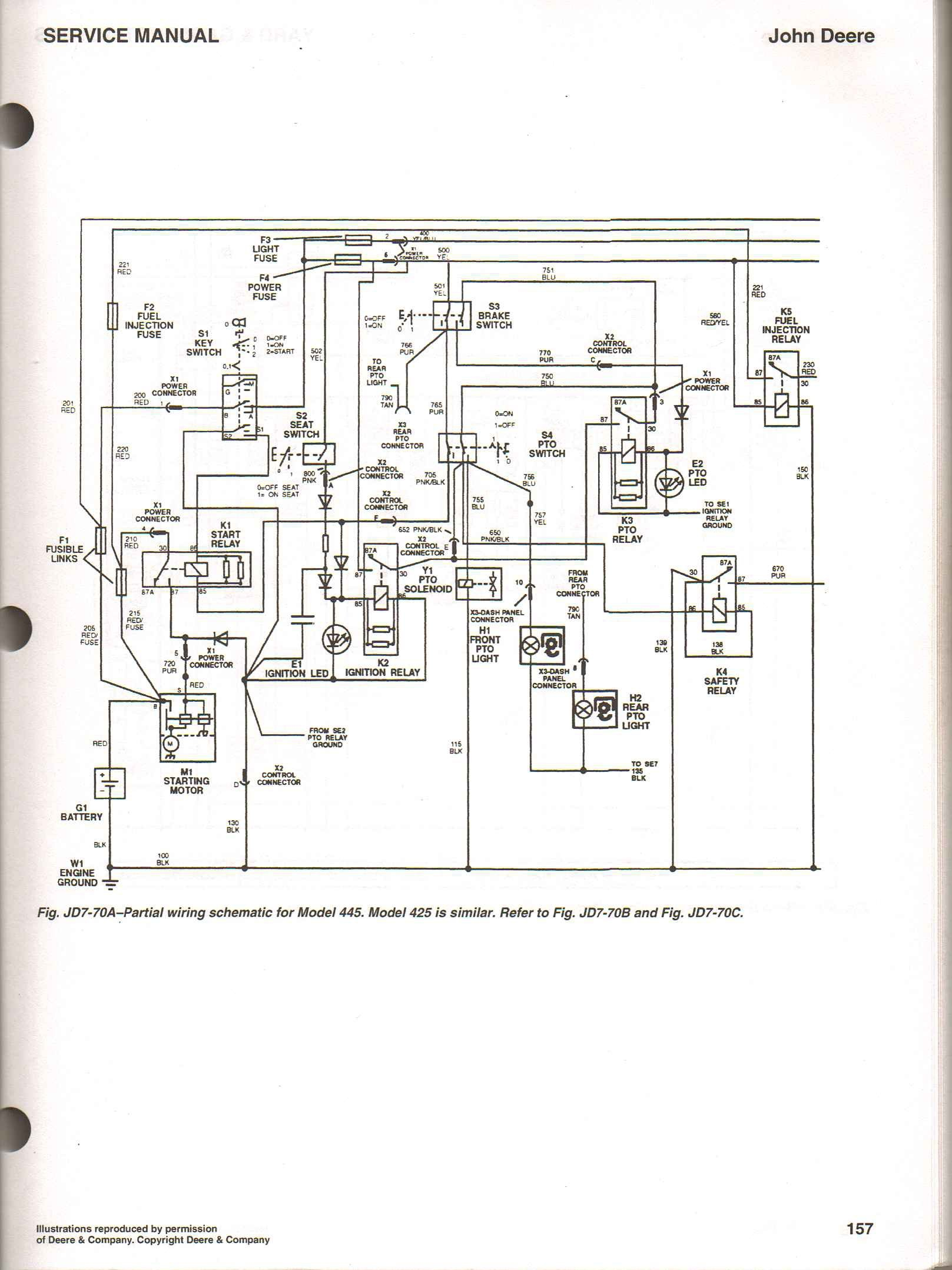 john deere seat switch wiring diagram