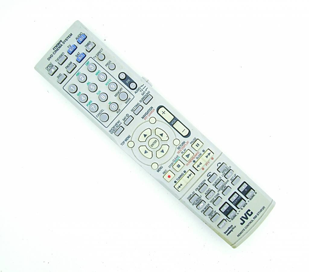 JVC Original JVC RM STHR3R DVD Cinema System remote control