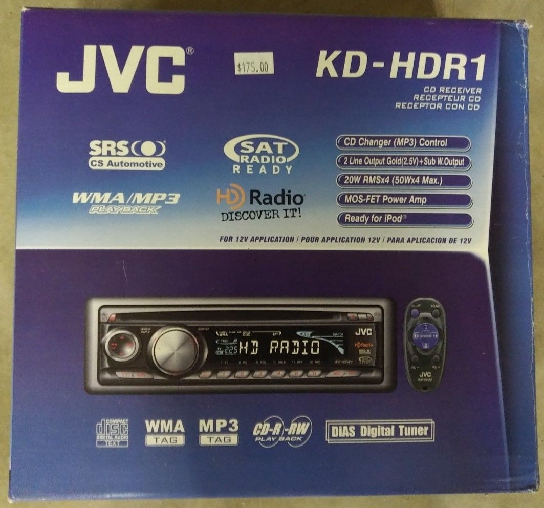 Jvc Kdr310