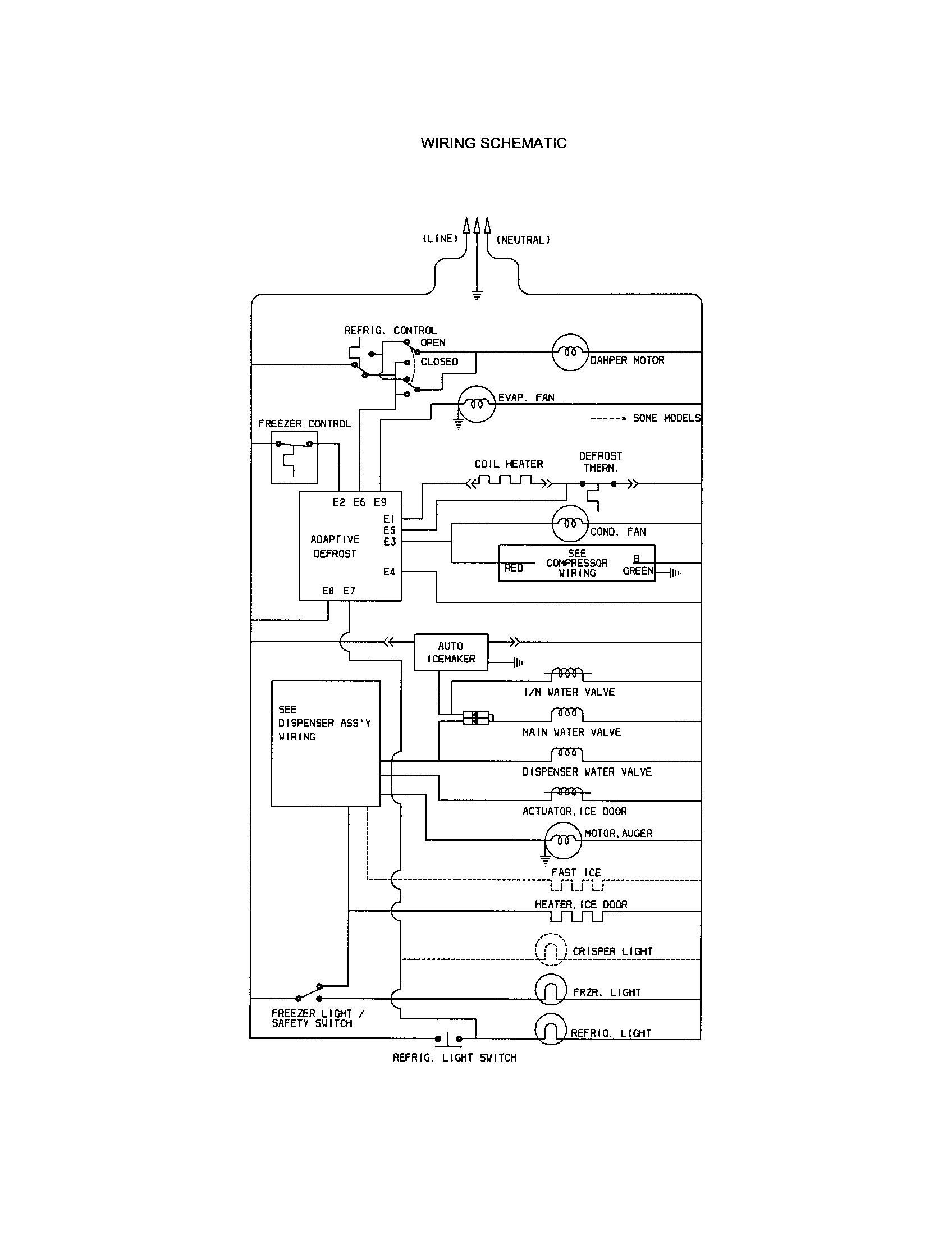 Refrigerator Wiring Receptacle Symbol Free Car Wiring Diagrams \u2022 Home Wiring  Diagrams 2 Way Wiring Diagram Refrigeration