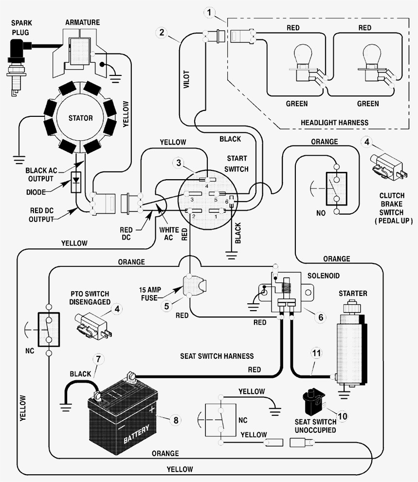 Universal Ignition Switch Wiring Diagram