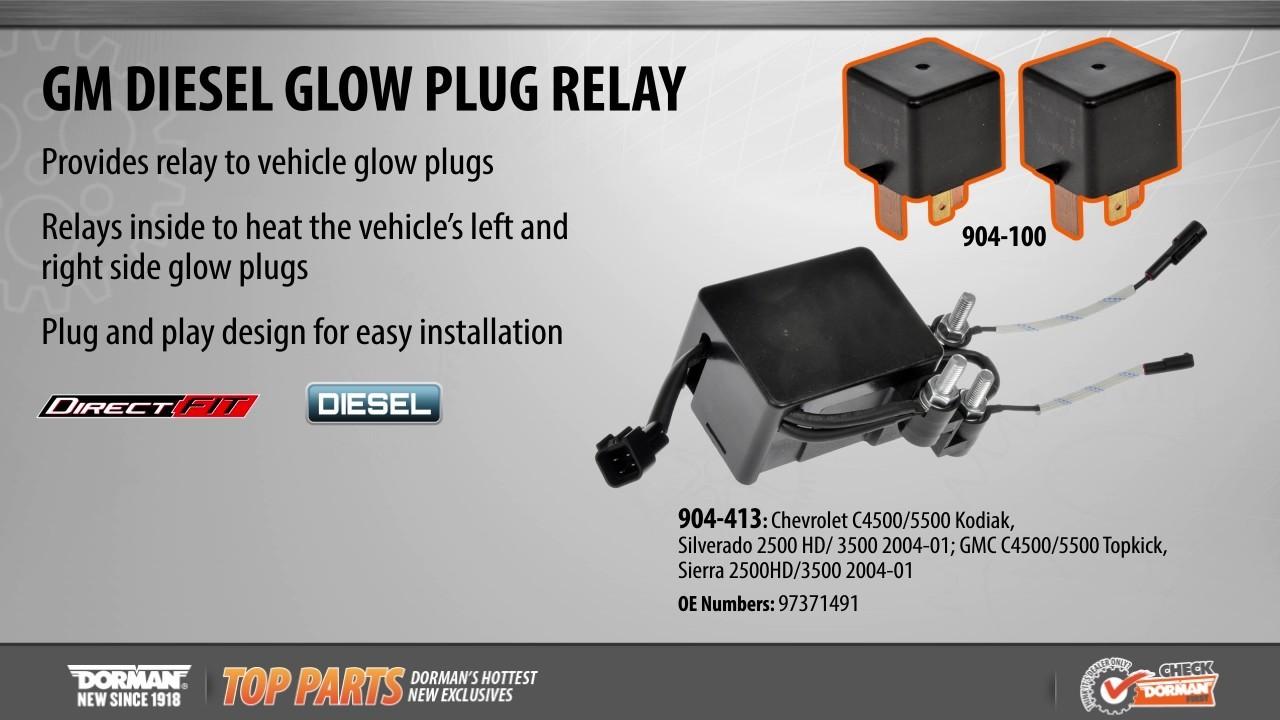 gm glow plug relay wiring  glow plug relay terminals  glow