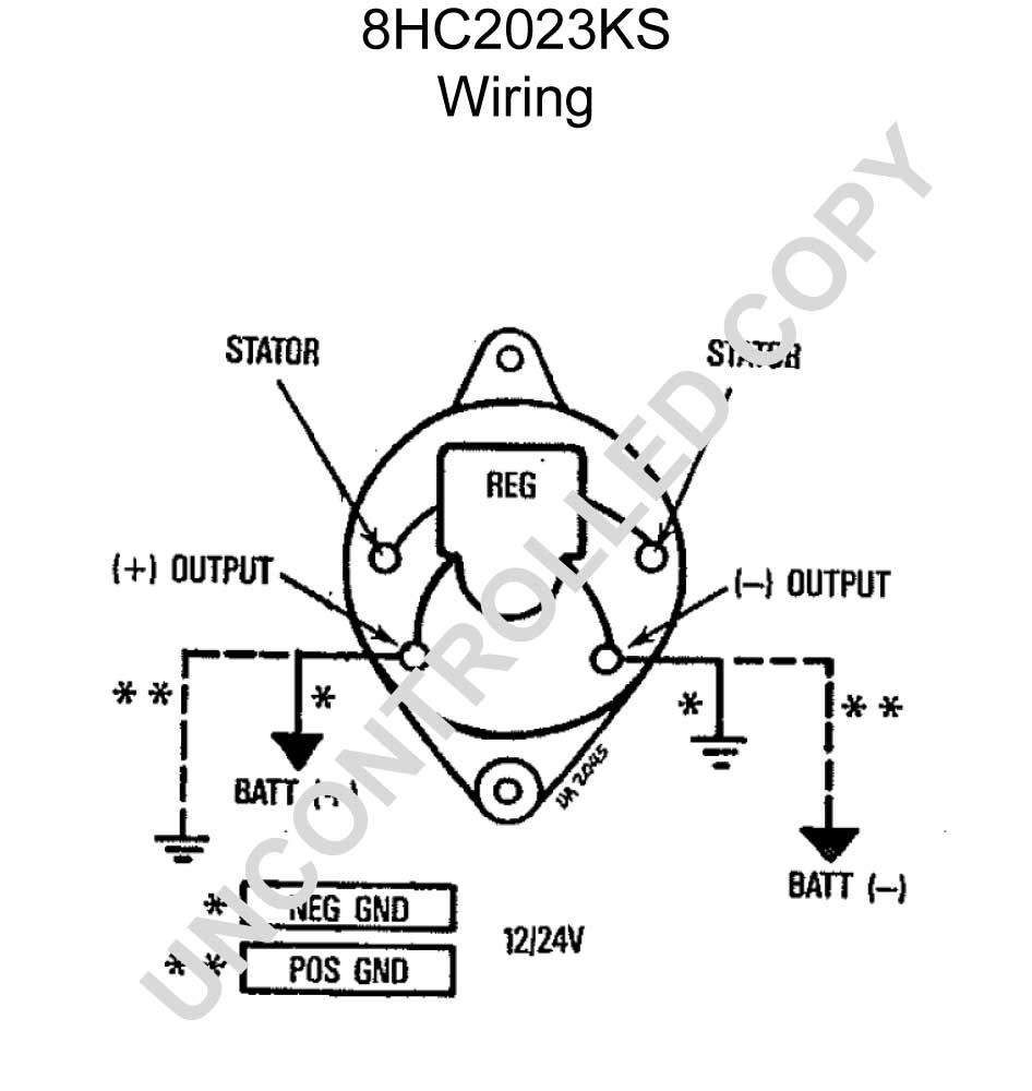 Leece Neville Alternator Wiring Diagram