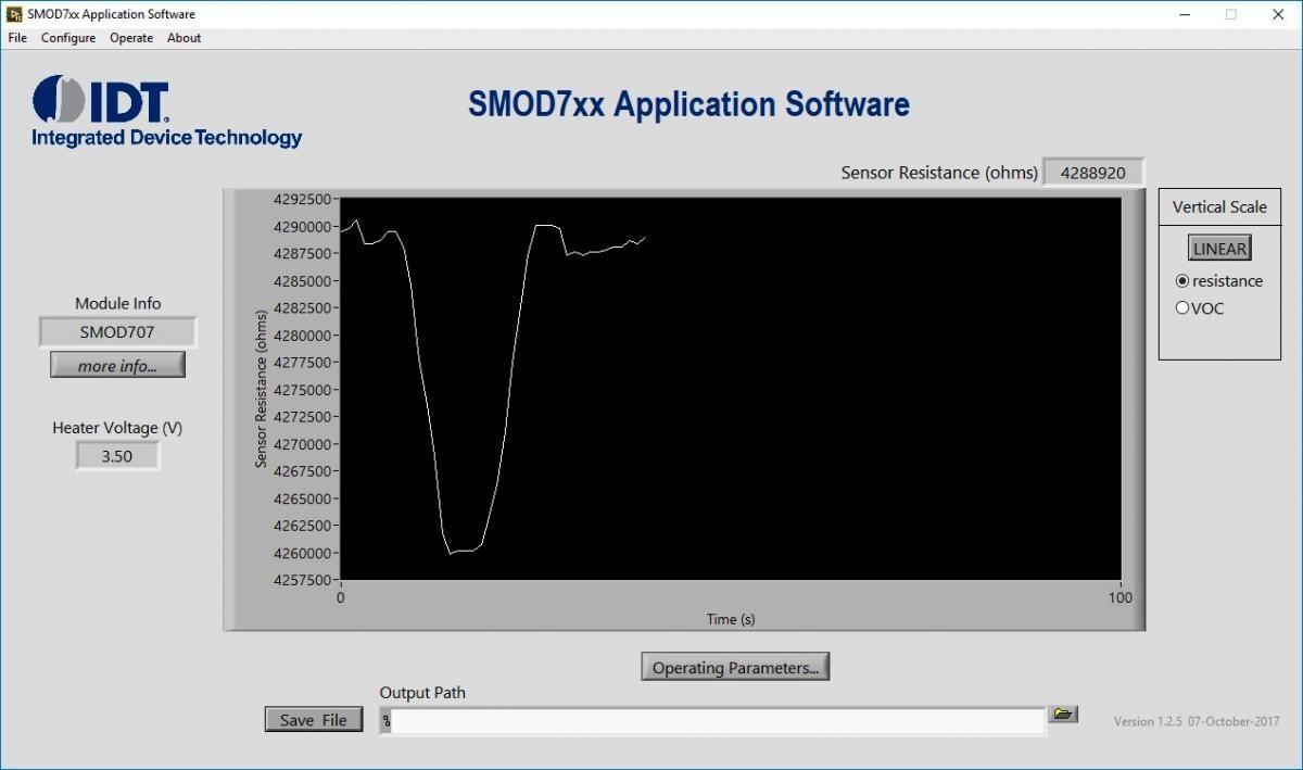 Obrázek 10 Aplikačn software SMOD kter½ se použvá v kombinaci s deskami SMOD7xx Zdroj obrázku Integrated Device Technology