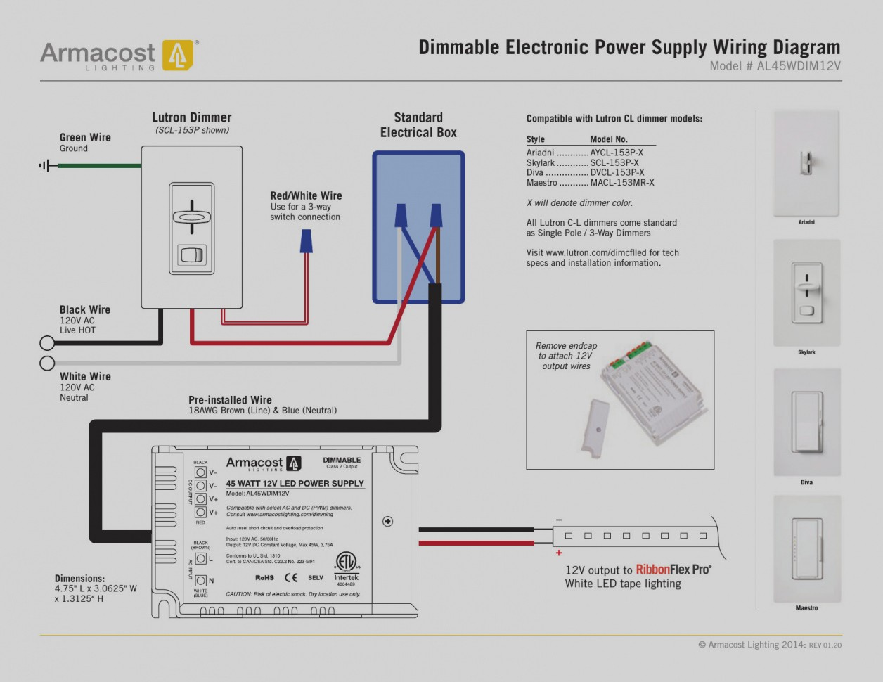 Lutron 3 Way Switch Wiring Diagram | Wiring Diagram Image on