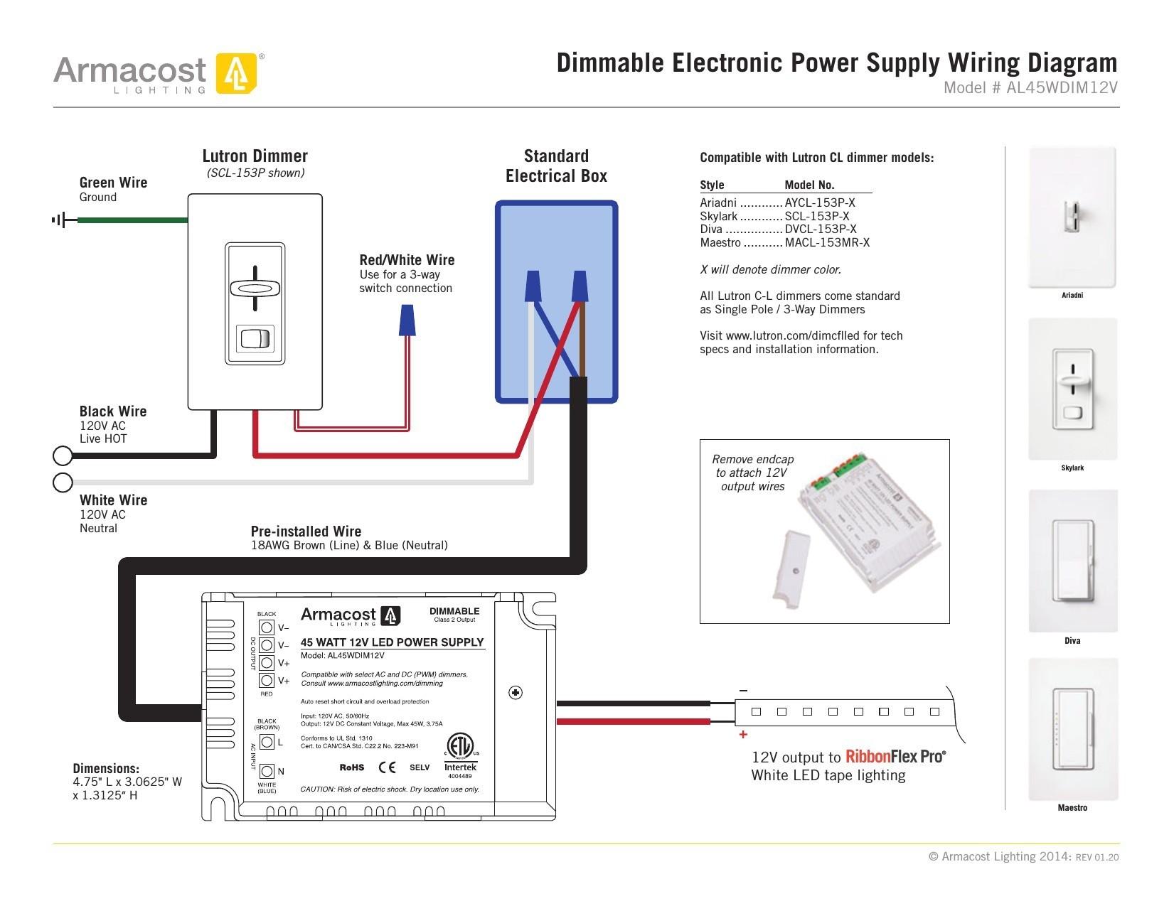 Lutron 3 Way Switch Wiring Diagram originalstylophone