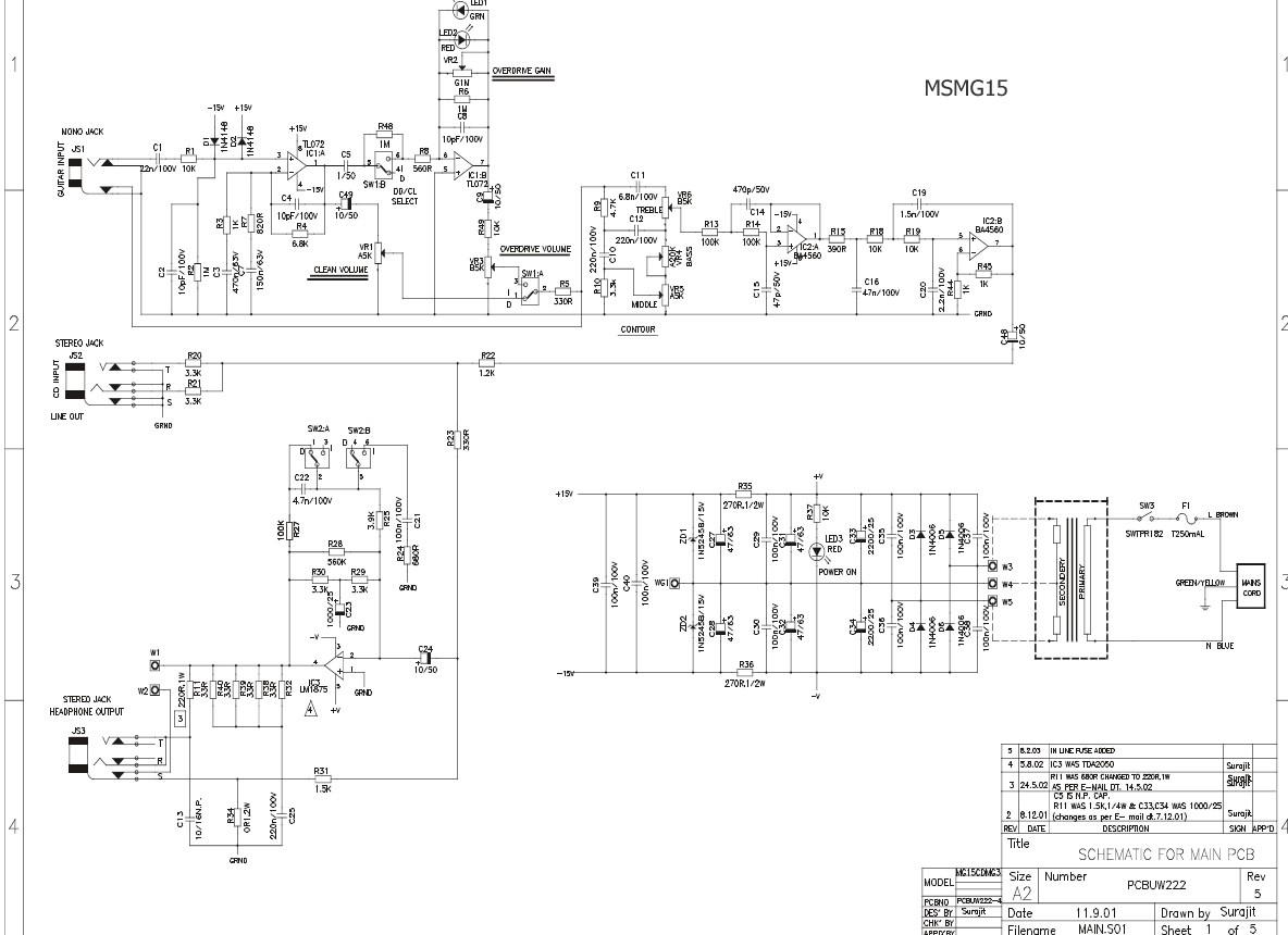 MSMG15 Schematic image schematic