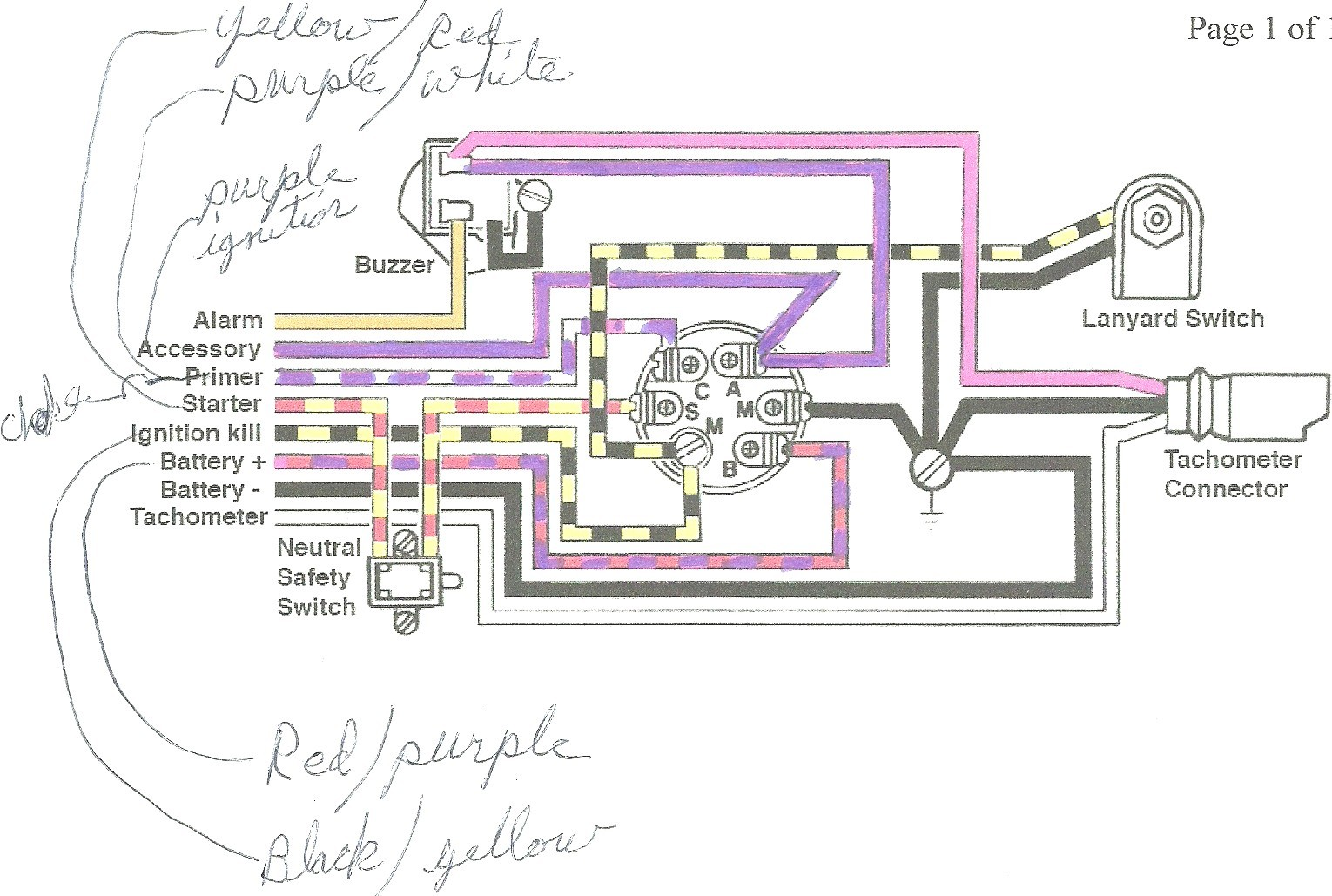 Mercury Outboard Wiring Diagram Schematic Elegant | Wiring Diagram Image