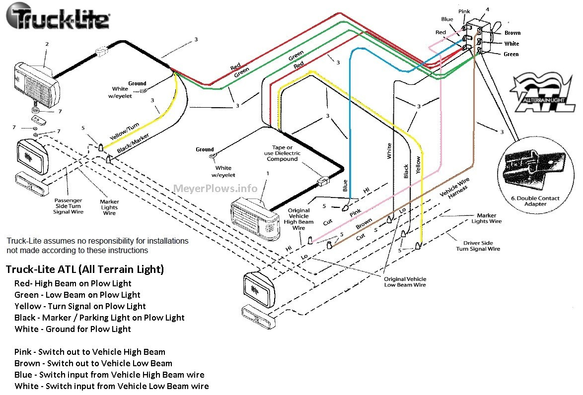 E 60 meyers plow wiring schematic
