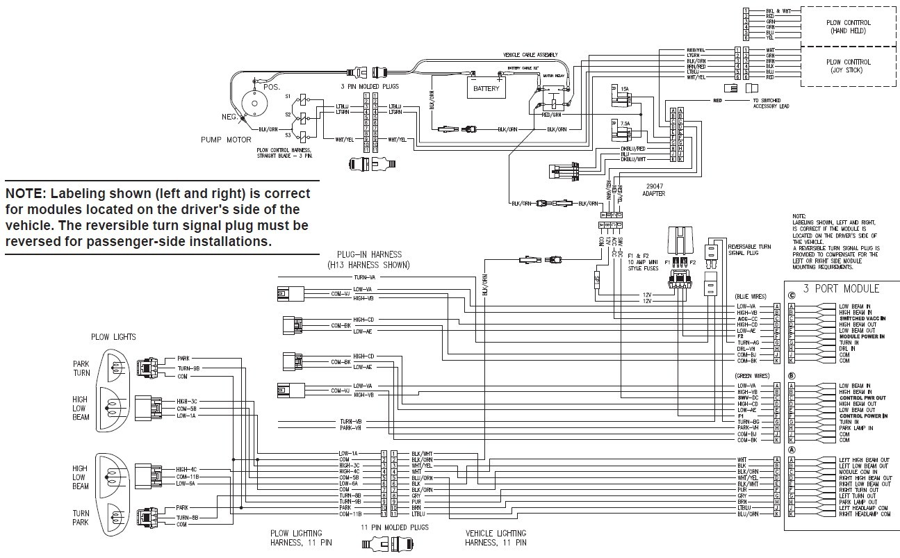 meyers plow wiring schematic choice image