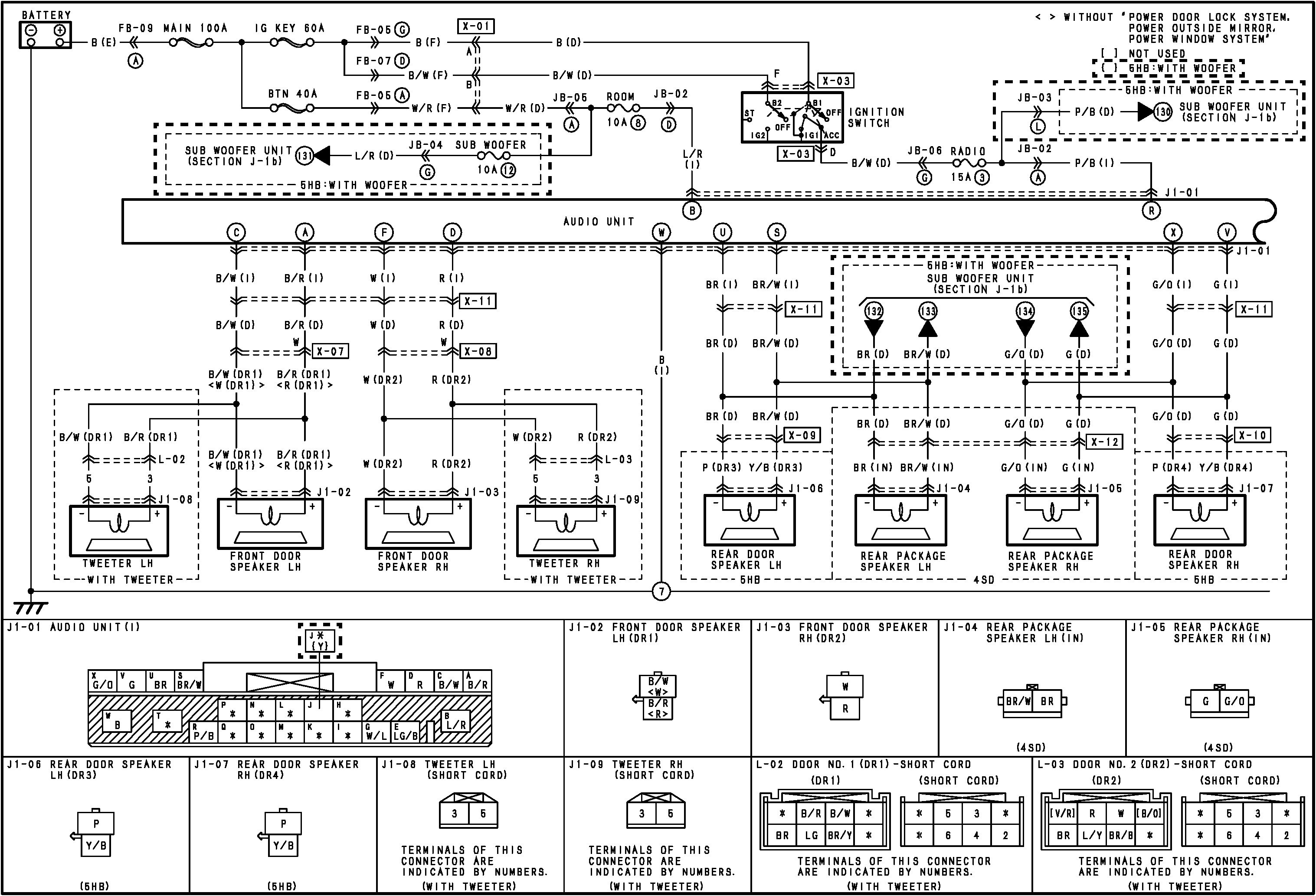 2003 Honda Civic Rear Speaker Wiring Detailed Schematics Diagram Trusted Diagrams Ford Windstar Speakers