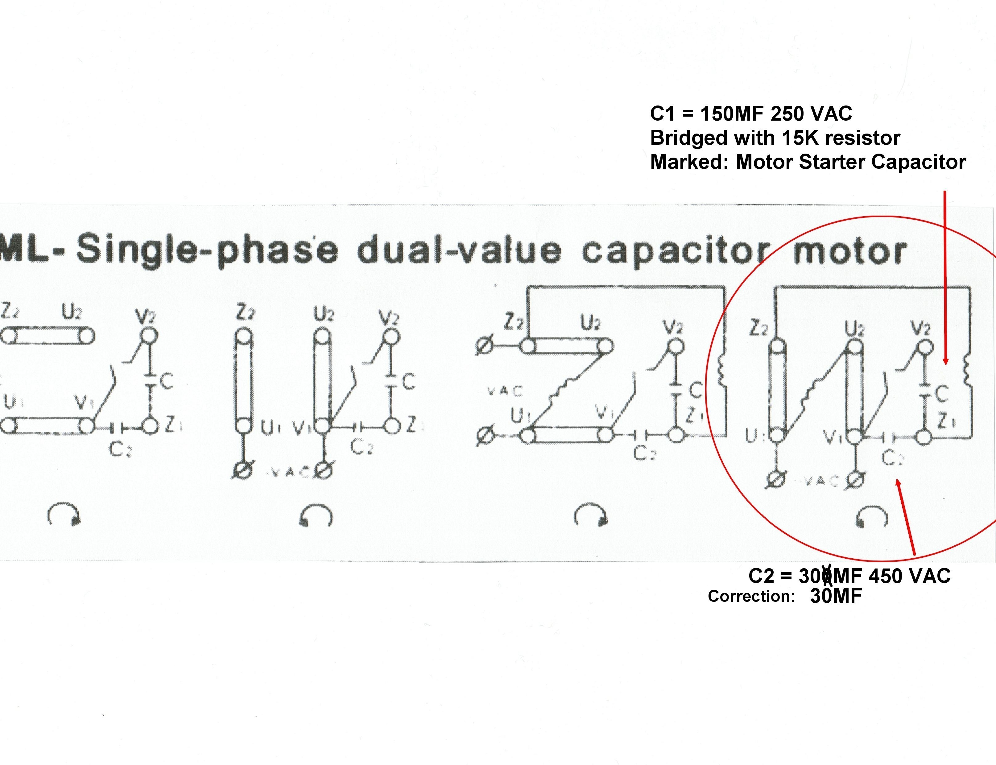 Electric Fan Wiring Diagram With Capacitor Save Capacitor Start Electric Motor Wiring Diagram Fresh For Best Single