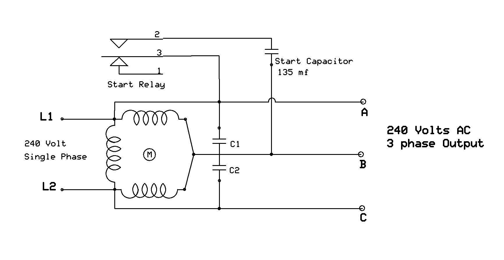Motor Starting Capacitor Guide Readingratnet Wiring Inside Single Incredible Start Diagram
