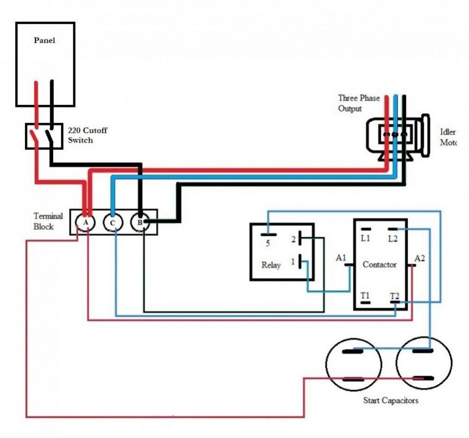 Wiring Diagram For Capacitor Capacitor Start Run Motors