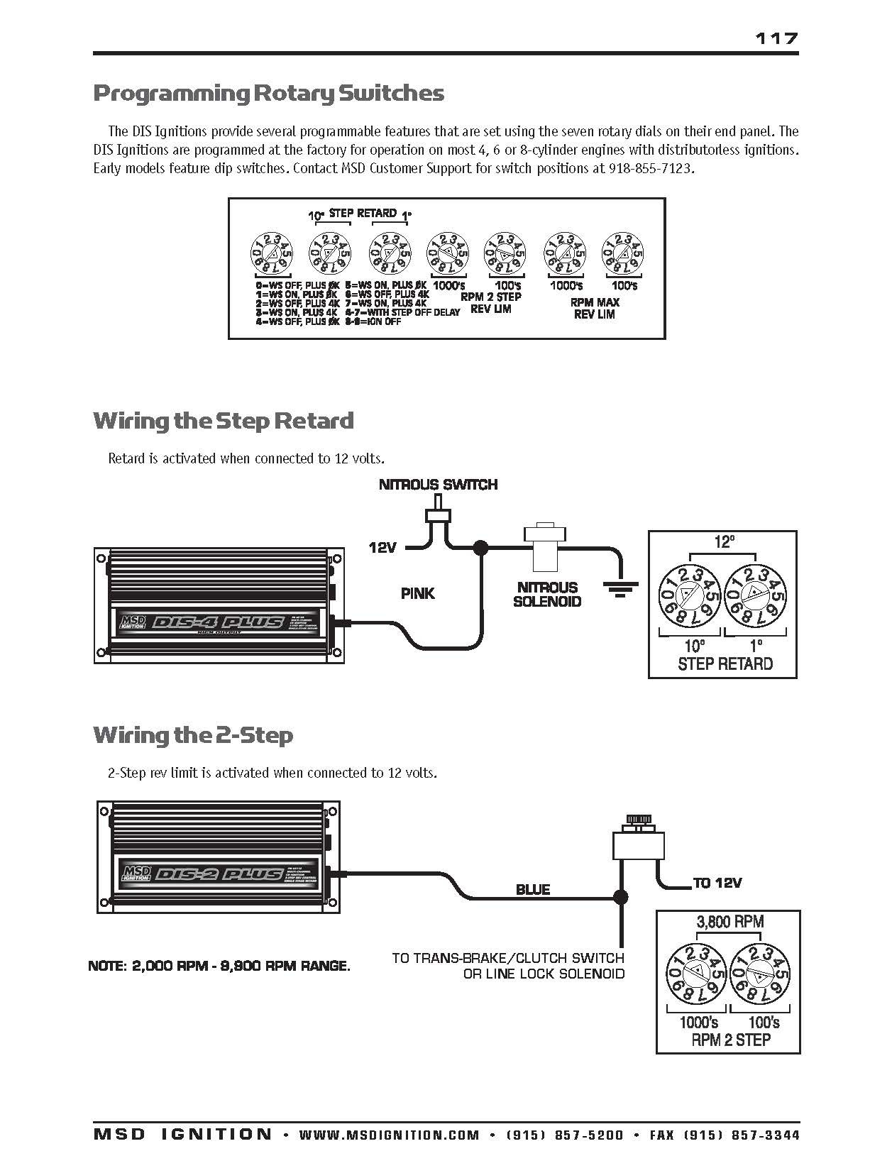 Msd Two Step Wiring Diagram Msd Ignition Wiring Diagram