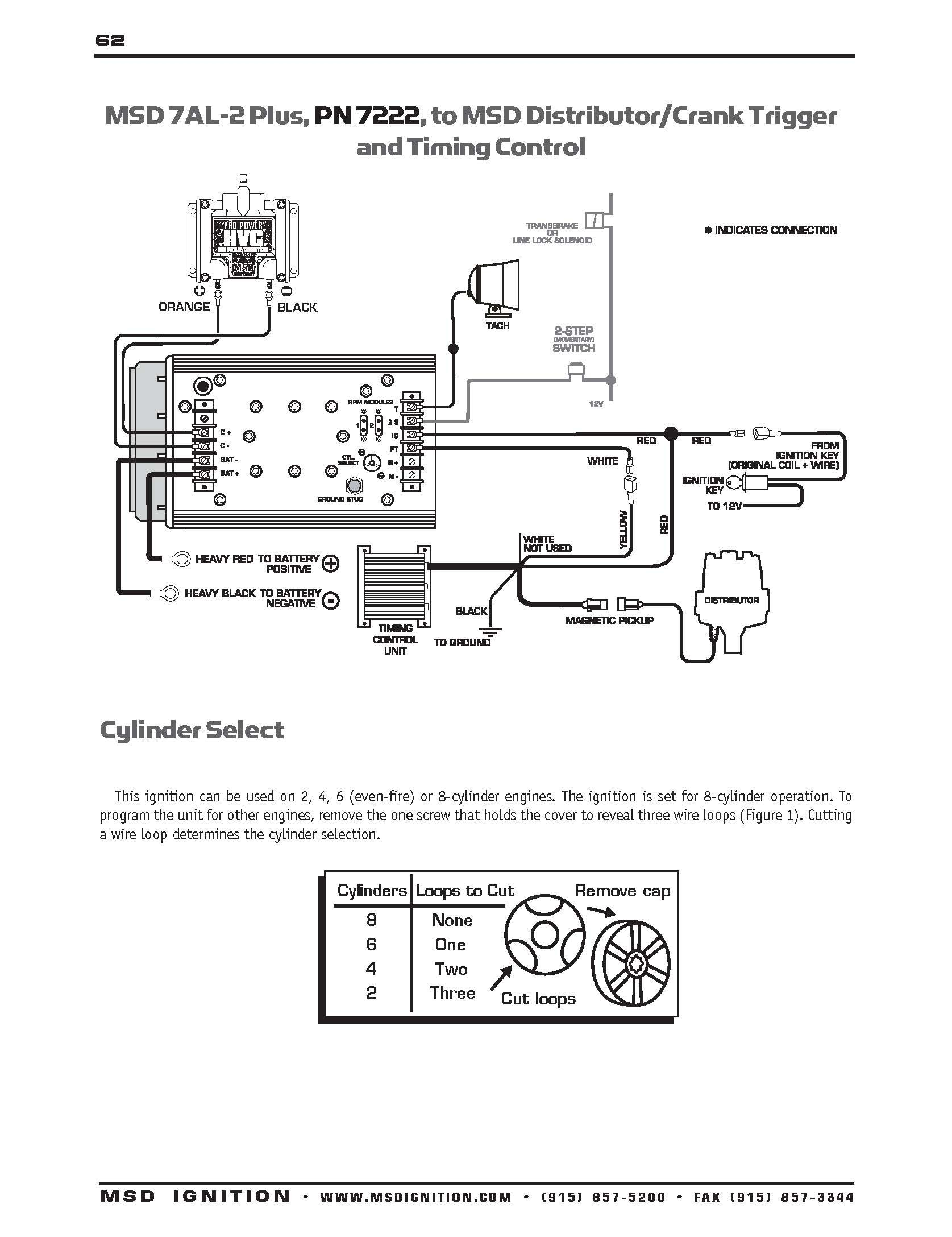 MSD Ignition Wiring Diagrams Best Msd Distributor Diagram