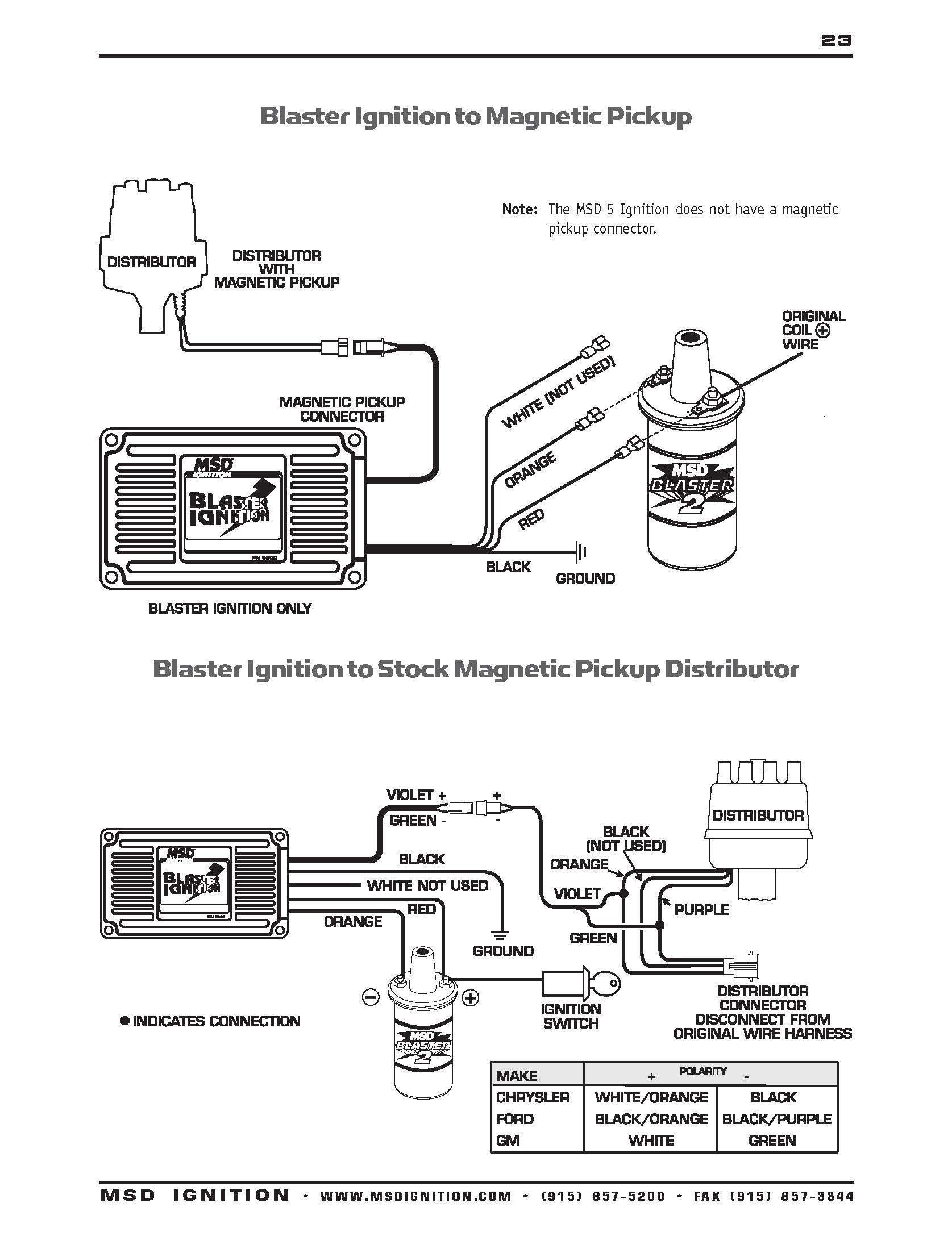 Lovely Msd Ignition Wiring Diagram