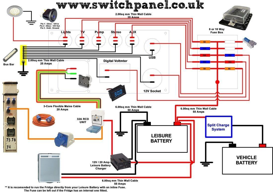 f road light wiring diagram Electricidad Pinterest