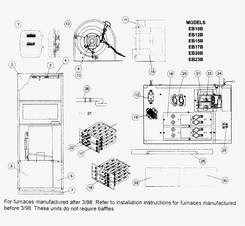 Intertherm e1eh 015 manual on