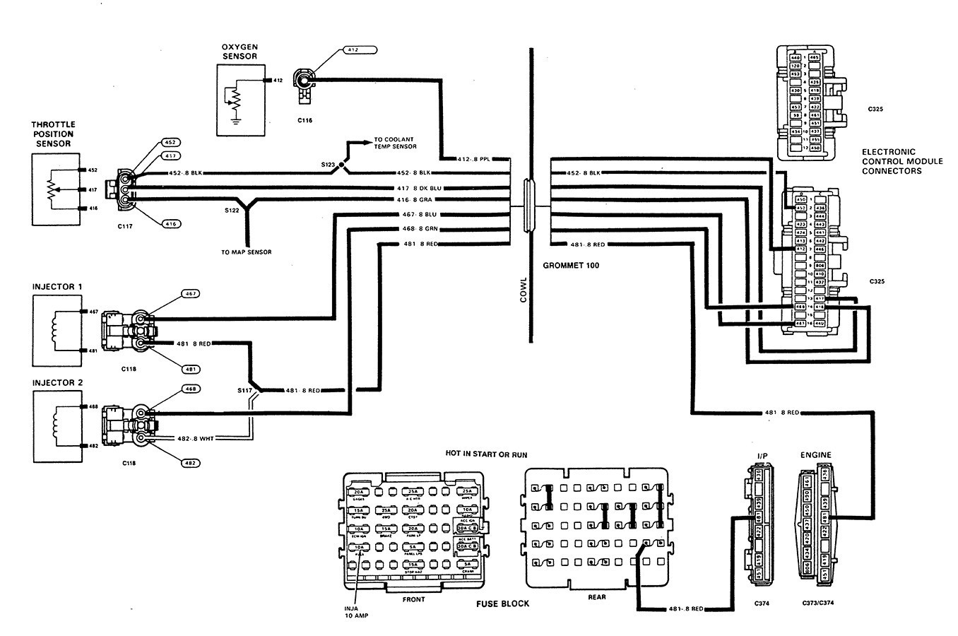 Wiring Diagram 4 Wire O2 Sensor 1996 Gm - Wiring Diagrams Schematics