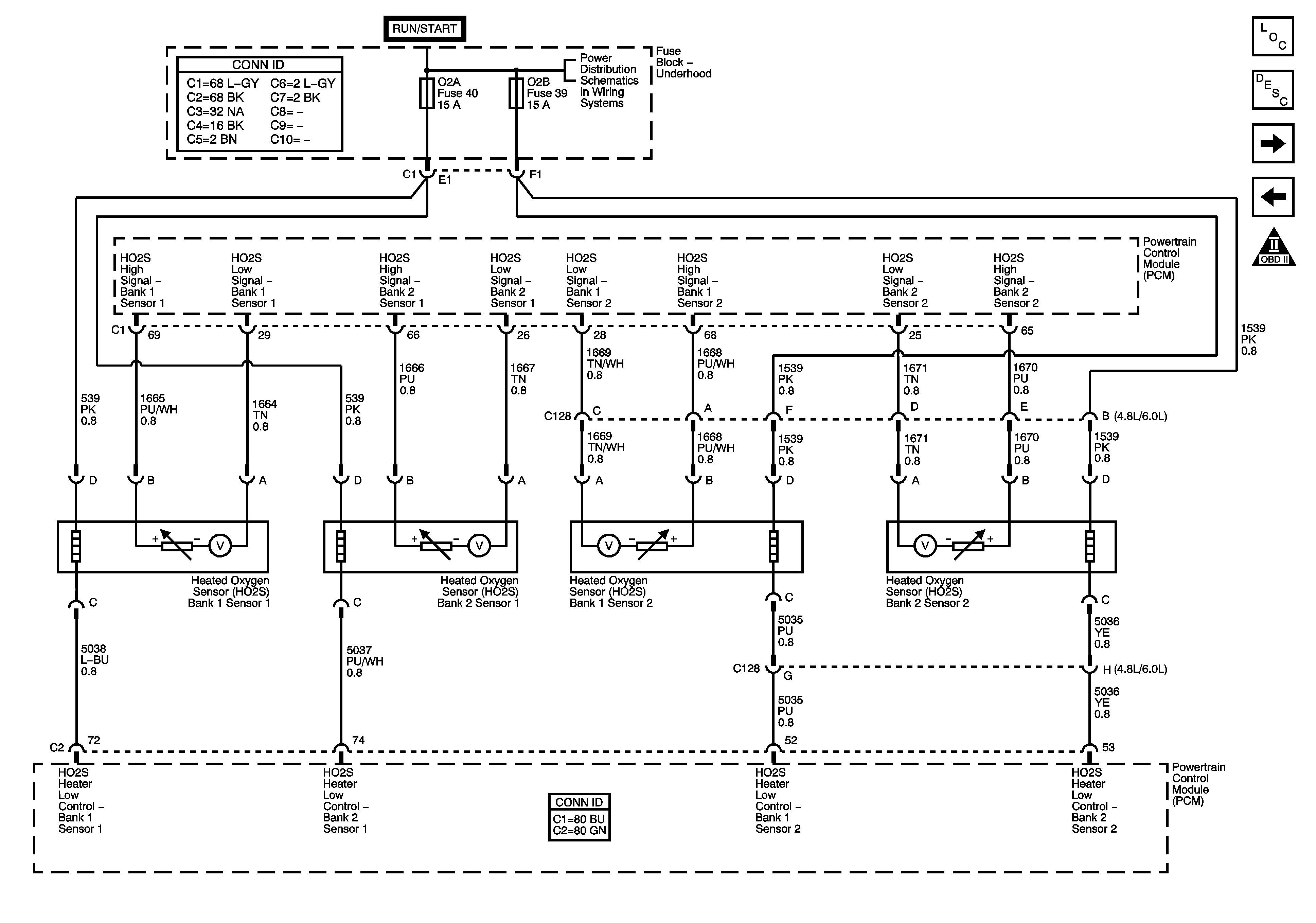 which o2 sensors LS1TECH Camaro and Firebird Forum Discussion Magnificent Gm  O2 Sensor Wiring Diagram