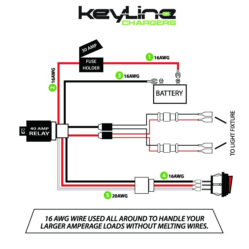 Off Road Light Wiring Diagram With Relay Solutions