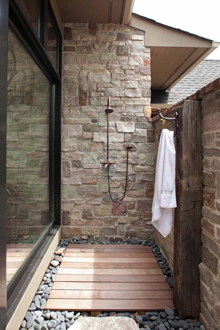 Freestanding Outdoor Shower Awesome 35 Cool Corrugated Metal Outdoor Shower are Making You Really
