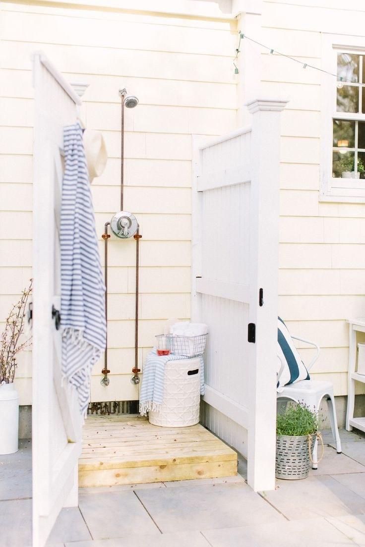 Corrugated Metal Outdoor Shower – Nice 164 Best Out Door Shower & Galvanized Enamel Tub &