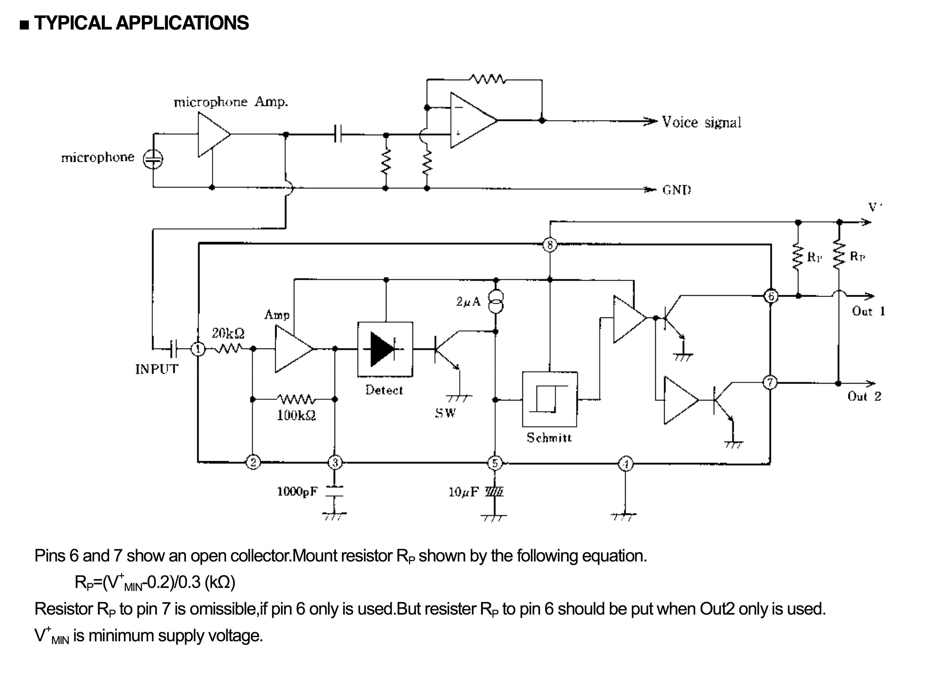 Overflow Detection Circuit | Wiring Diagram Image