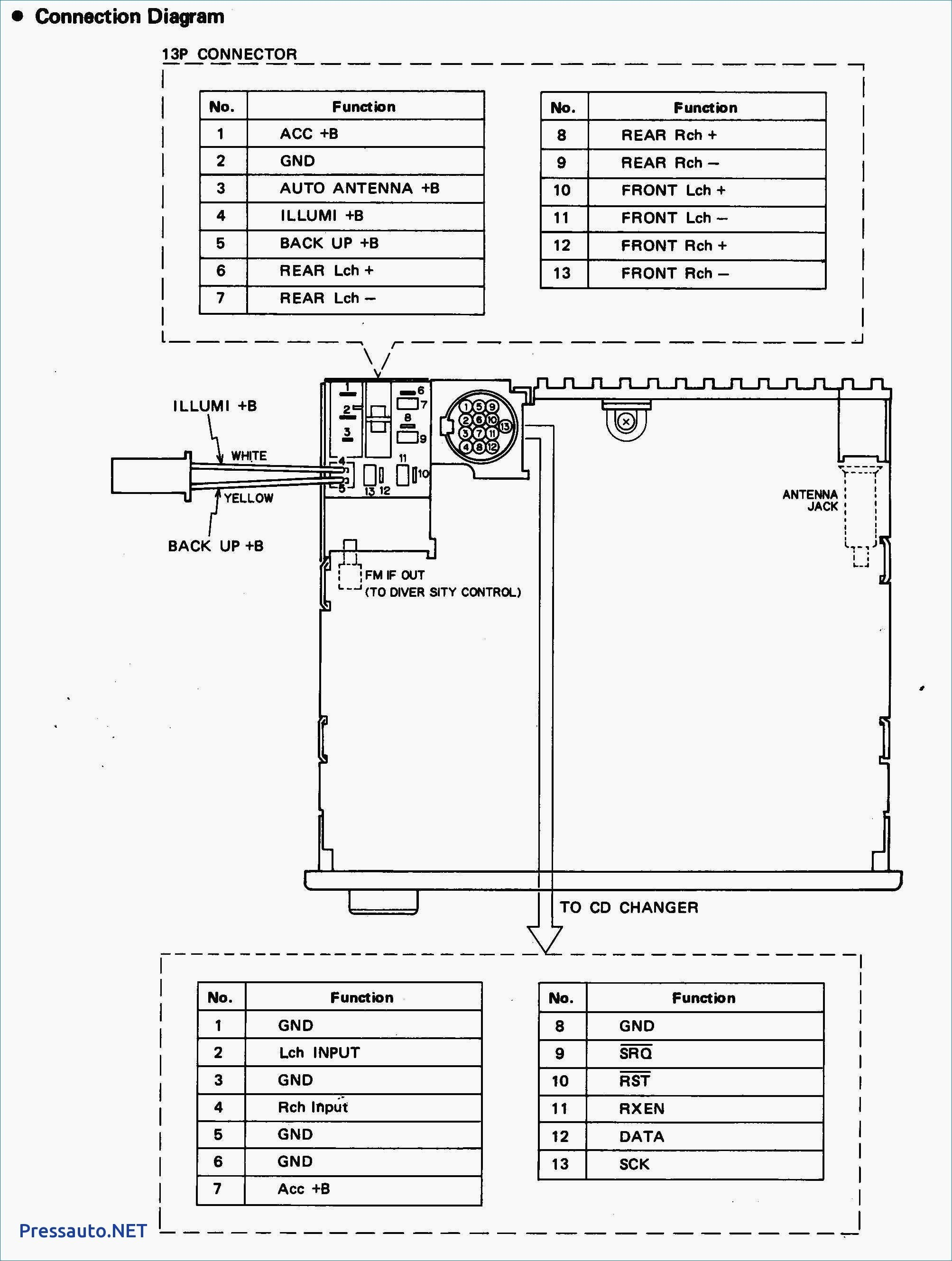Pioneer Deh 1300mp Wiring Diagram Colors Fresh Great Within 1850 For Mvh X370bt