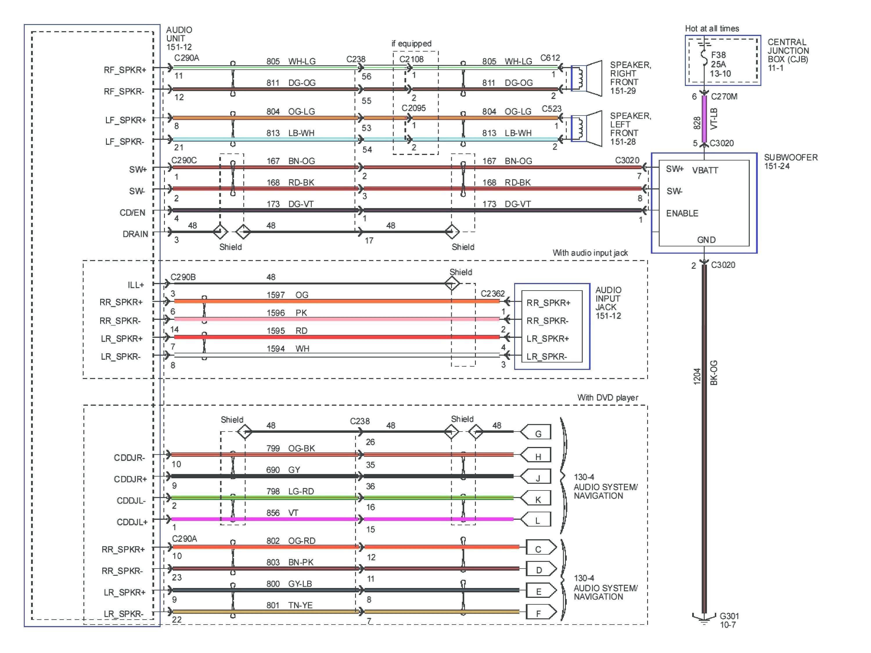 Lovely Pioneer Avh X2800bs Wiring Diagram Wiring