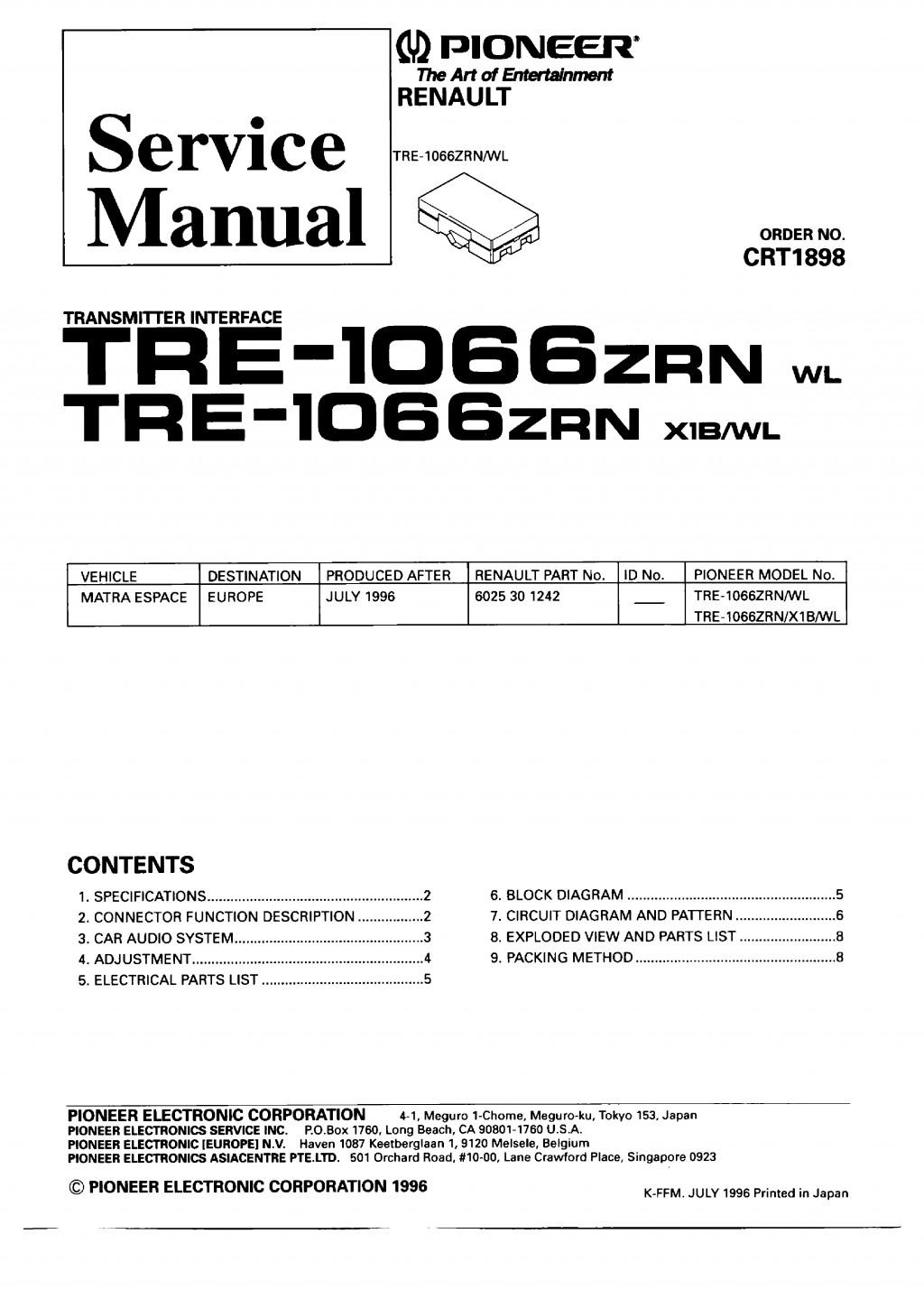 Fancy Pioneer Avh P5700dvd Wiring Diagram Frieze Electrical