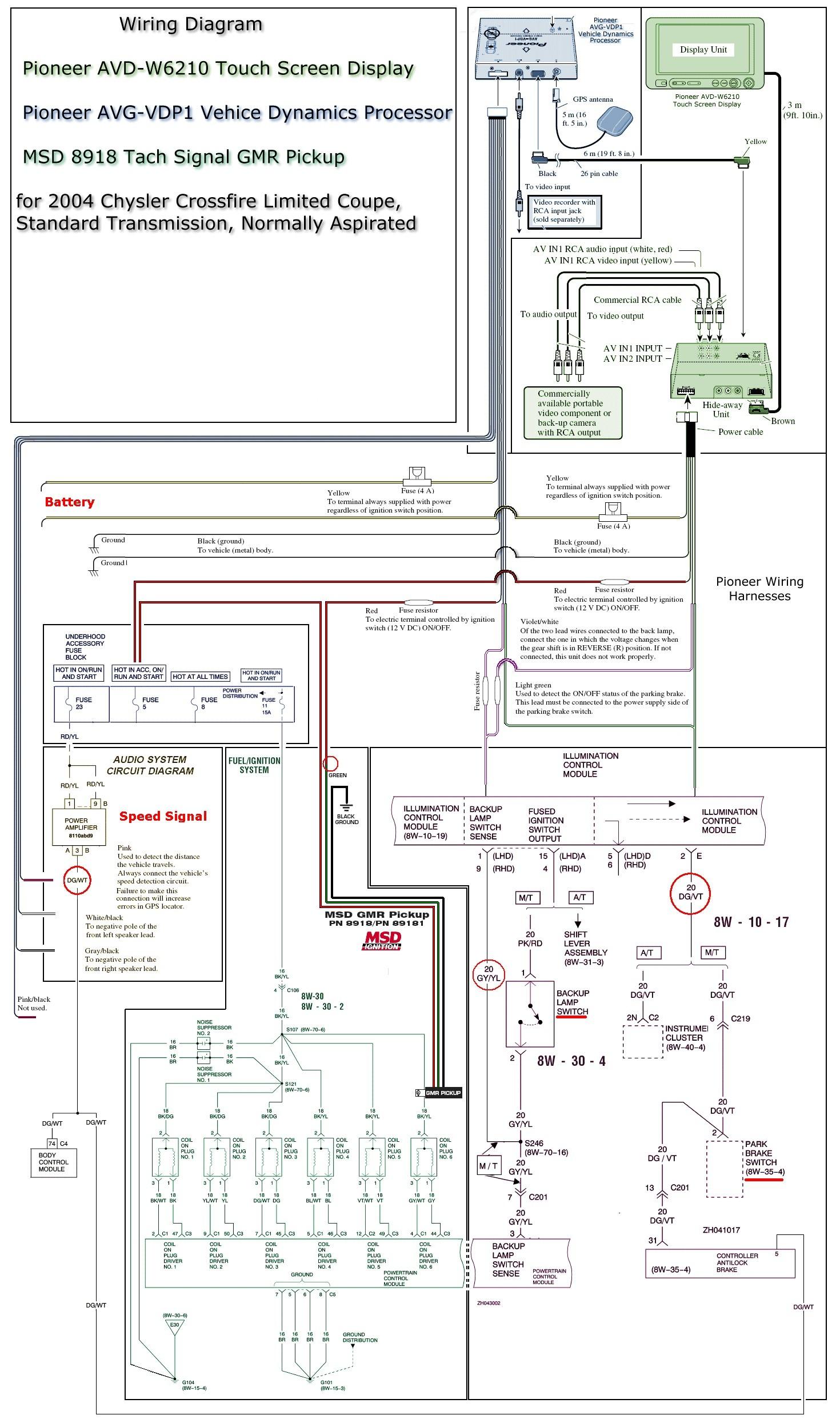 Pioneer Avh-x2800bs Wiring Diagram Awesome   Wiring Diagram Image