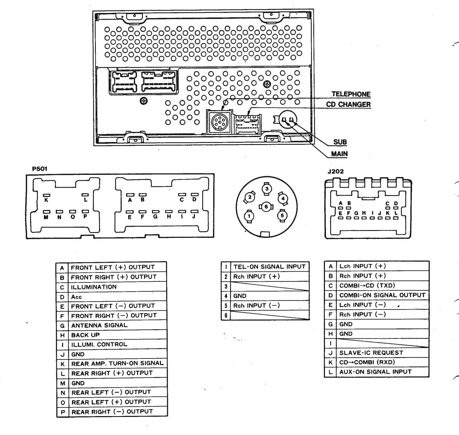 Pioneer Avh X4800bs Wiring Diagram Wiring Diagram