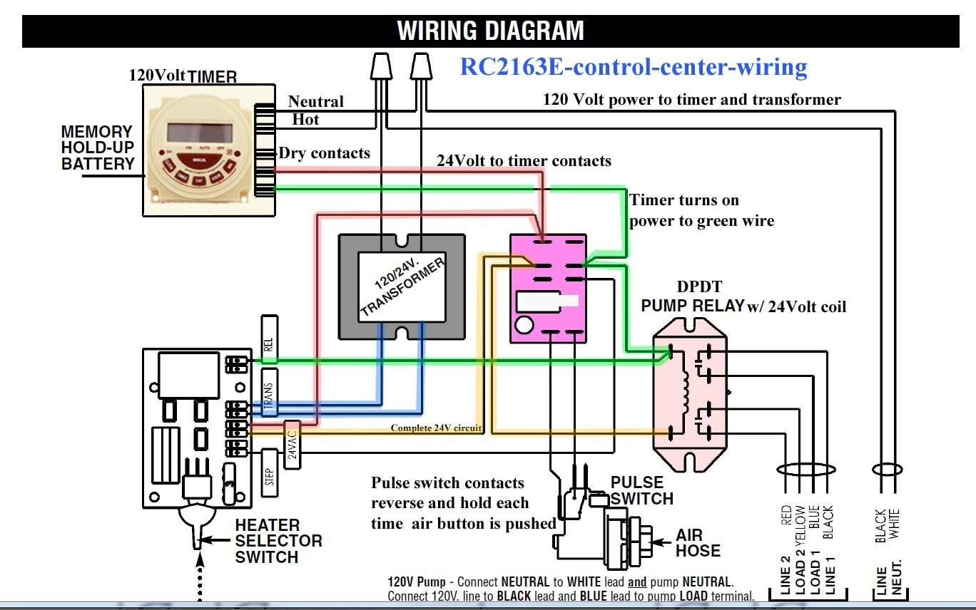 Pool Pump Wiring Diagram Lovely Rc2163e Control Center Wiring Pool Light Transformer Diagram Wiring Diagram