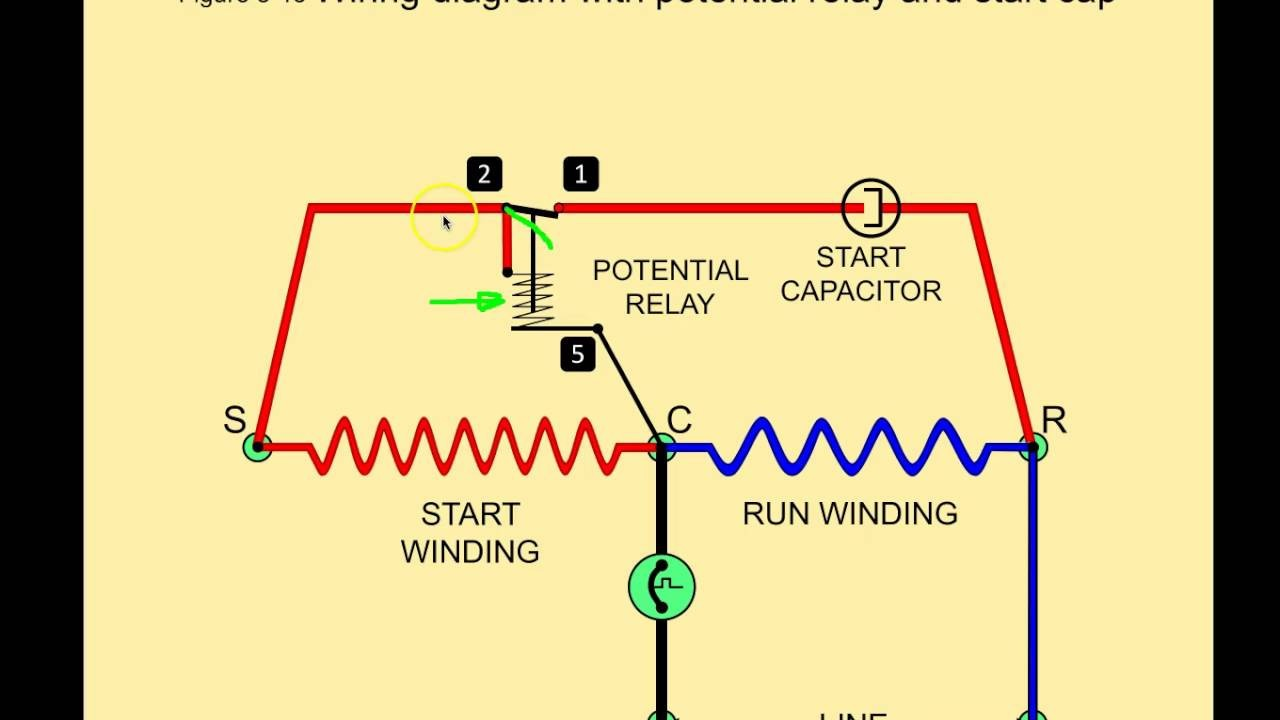 potential relay wiring diagram wiring diagram image mars potential relay  wiring diagram at Potential Relay Wiring