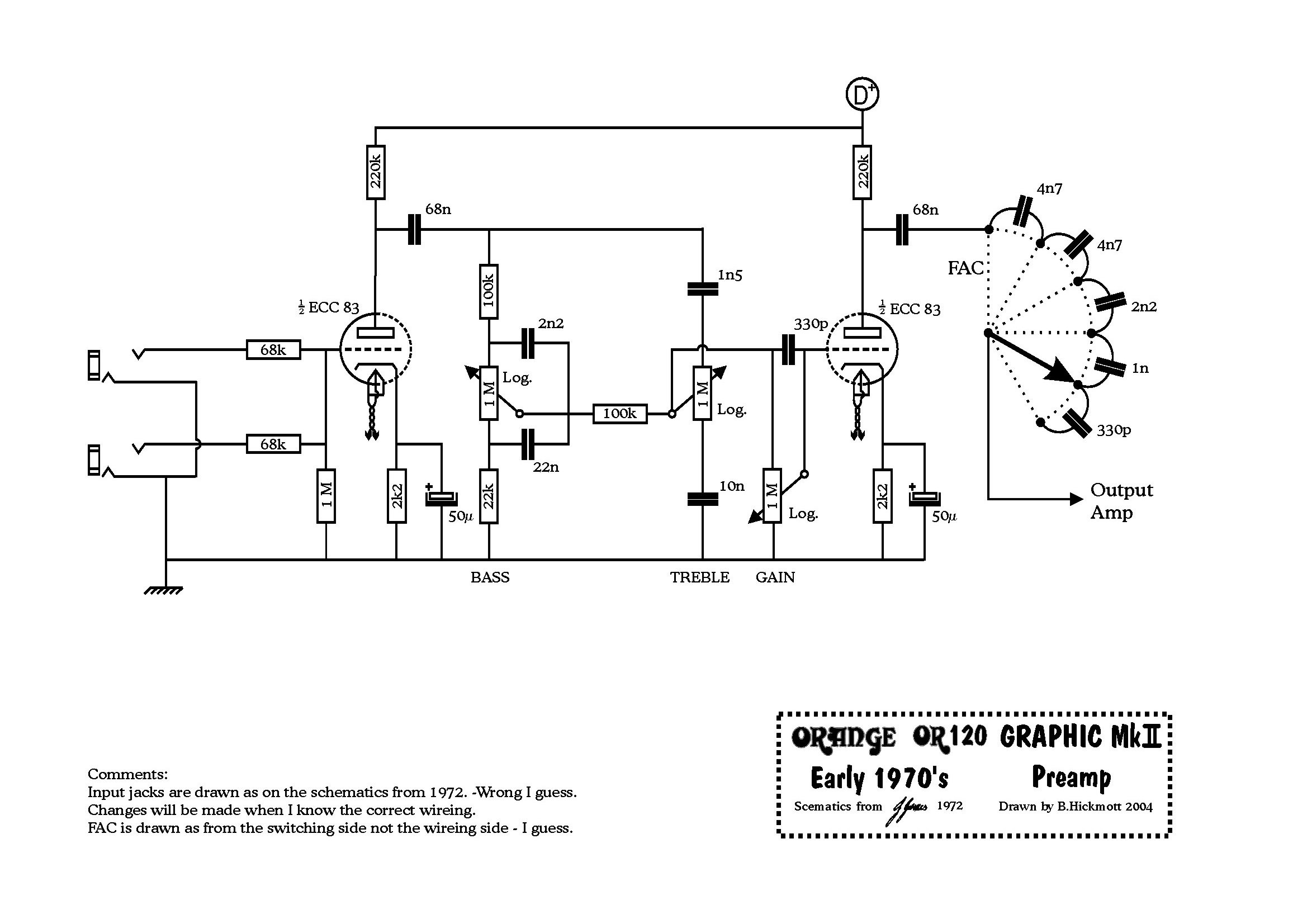 OR120 72 preamp