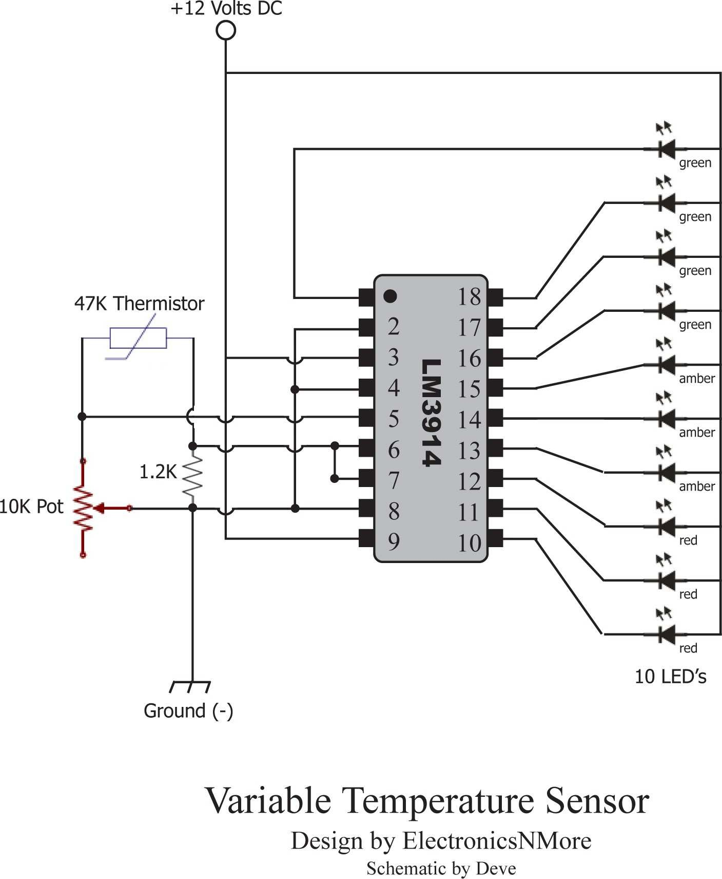 Potentiometer Circuit Diagram Inspirational Critical Systems Warning Circuit