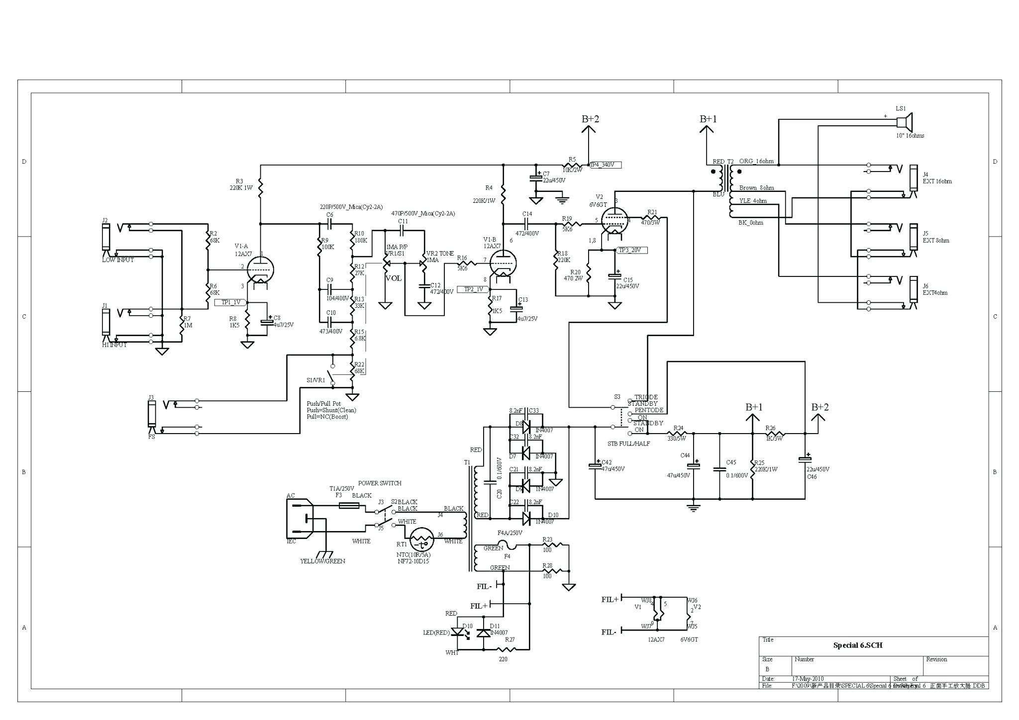 Awesome Potentiometer Wiring Diagram Electric Scooter s