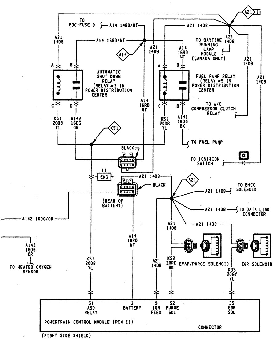 94 dakota ignition wiring diagram trusted wiring diagrams \u2022